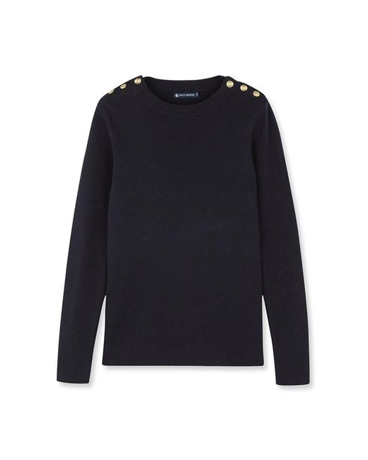 Petit Bateau | Black Women's Sailor Sweater | Lyst