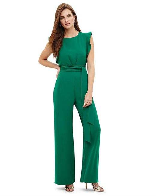 Phase Eight - Green Emerald Victoriana Jumpsuit - Lyst