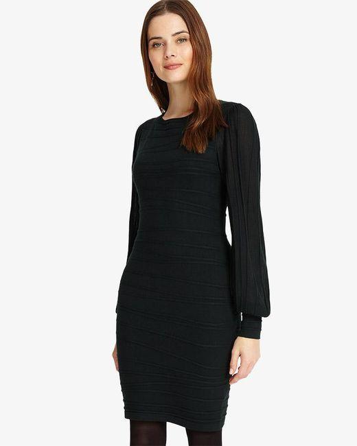 Phase Eight - Black Benita Balloon Sleeve Dress - Lyst