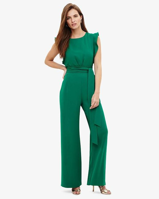 Phase Eight - Green Victoriana Jumpsuit - Lyst