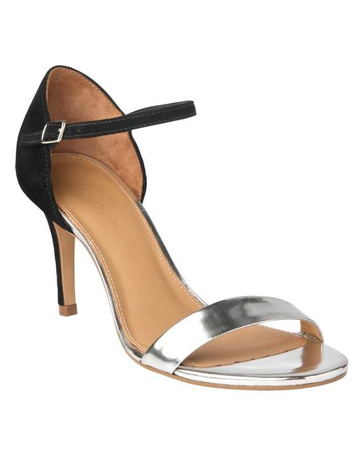 Phase Eight - Natural Selina Metallic Strappy Sandals - Lyst
