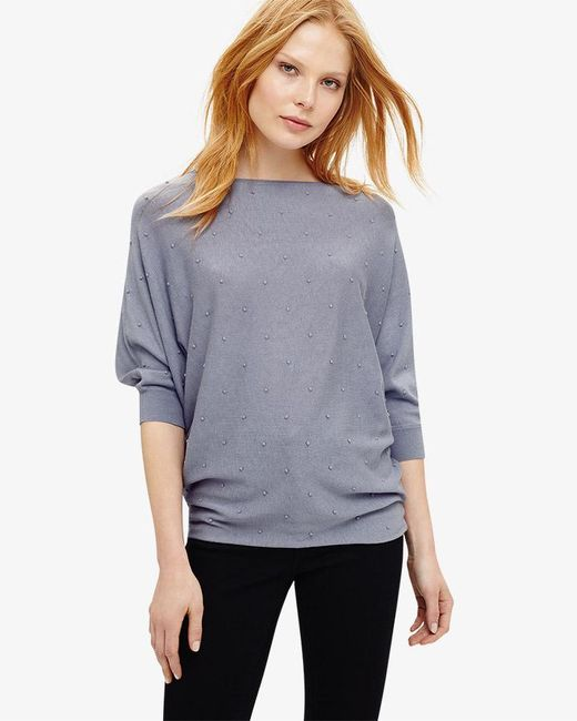 Phase Eight - Multicolor Becca Spot Stitch Knit Top - Lyst
