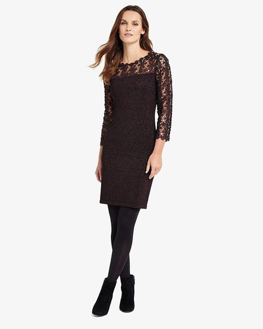 Phase Eight - Multicolor Suzy Foil Dress - Lyst