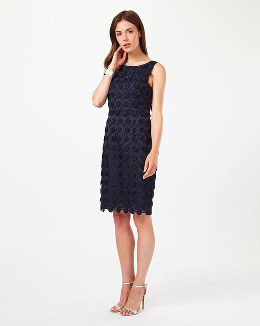 Phase Eight | Blue Violetta Circles Lace Dress | Lyst