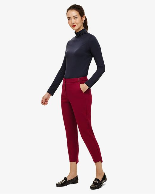 Phase Eight - Red Lucy-lou Step Hem Trousers - Lyst