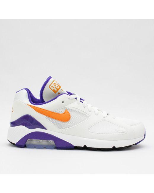 aa20e95744 Nike Trainers - Nike Air Max 180 White Ceramic 615287 101 for Men - Lyst ...