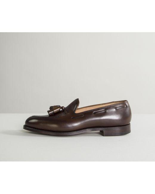 Cavendish Suede Loafers Polo Brown Crockett & Jones Buy Cheap Popular 9ARYkufOll