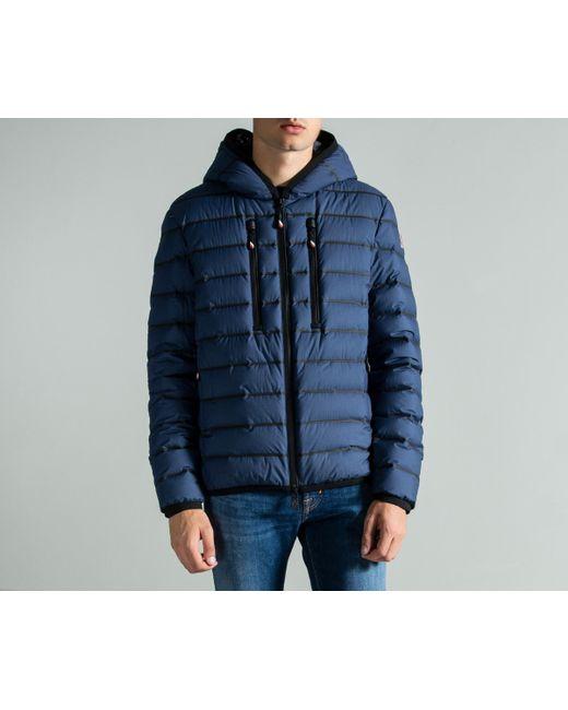 1d3da7926cc41 Lyst - Moncler Grenoble  emerald  Down Jacket Blue in Blue for Men ...