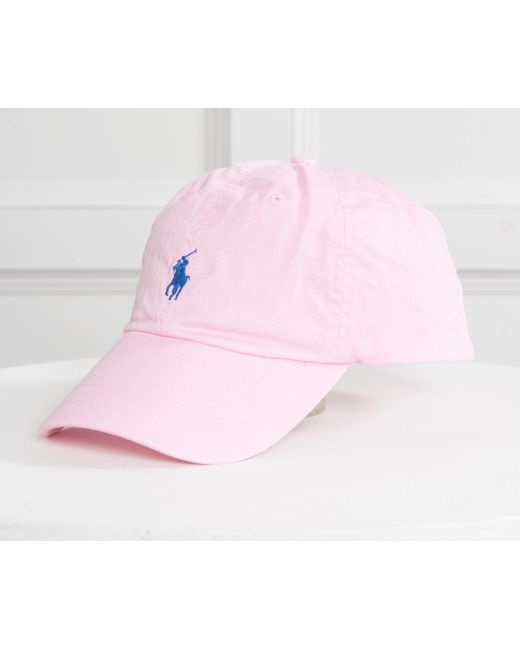 9b1965091b059 ... Polo Ralph Lauren - Classic Cap Pink With Navy Horse for Men - Lyst ...