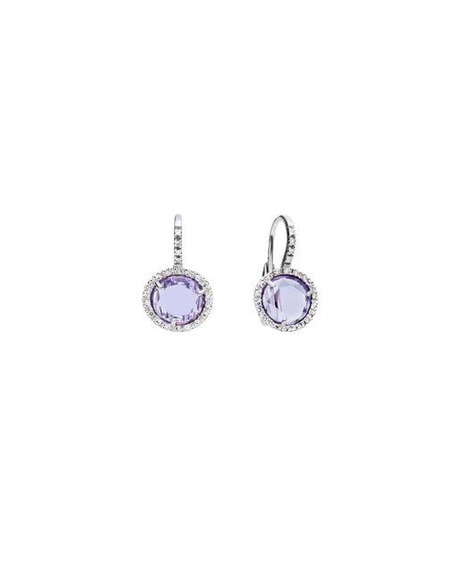 Pomellato | Purple Earrings Colpo Di Fulmine | Lyst