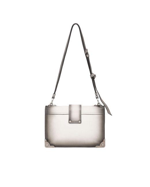6107ba00c305 ... Prada - Multicolor Cahier Leather Shoulder Bag - Lyst