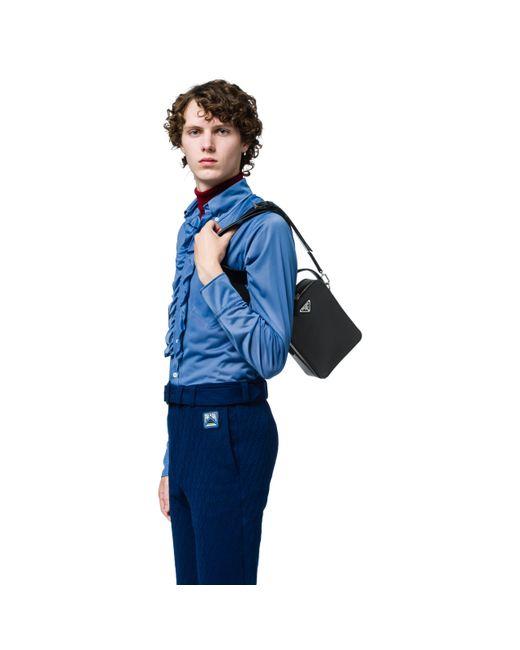 137386f3cc24 Lyst - Prada Cross Body Bag in Black for Men - Save 10%