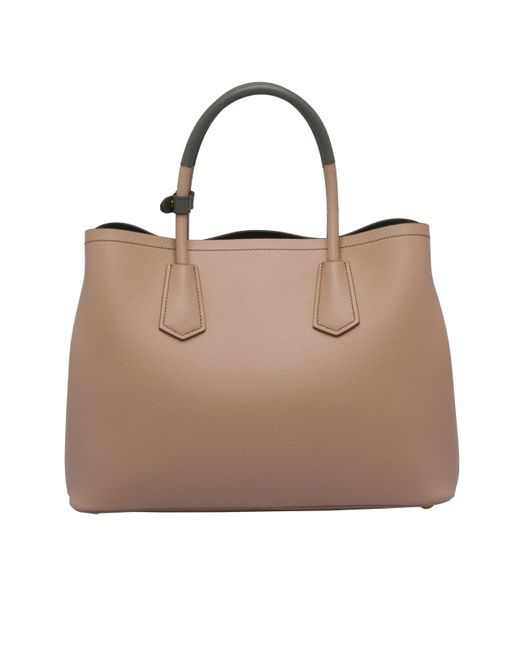 ccf58dc8e43d4 ... Prada - Multicolor Double Medium Bag - Lyst ...