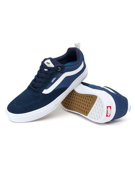 lyst vans kyle walker pro shoes in blue for men save