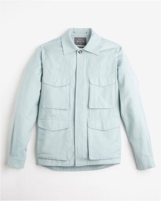 Private White V.c. - Blue The Desert Jacket for Men - Lyst