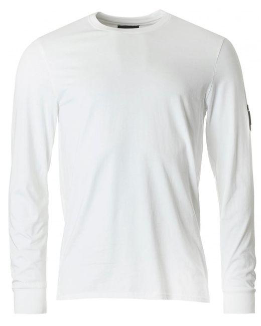 Marshall Artist - White Long Sleeved Siren Crew Neck for Men - Lyst