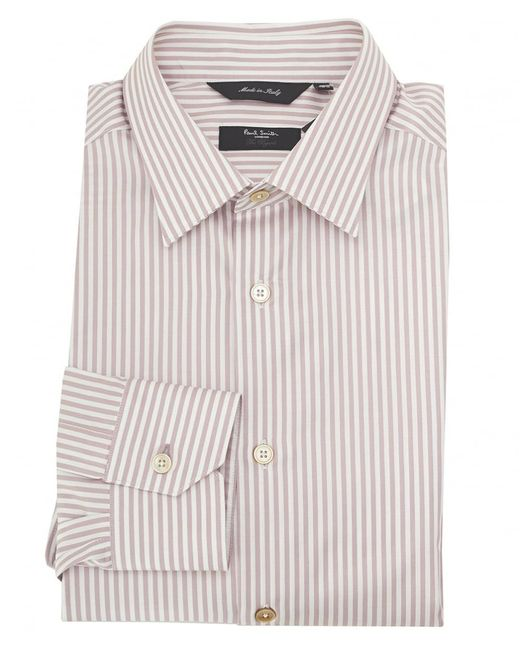 Paul Smith | Pink Slim Fit Bengal Stripe Shirt for Men | Lyst