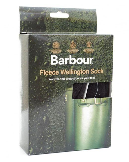 Barbour | Black Fleece Wellington Socks for Men | Lyst