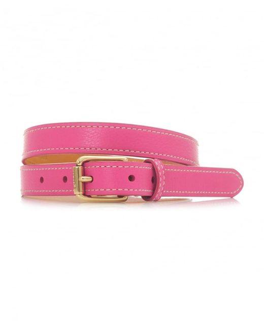 Polo Ralph Lauren - Multicolor Skinny Leather Belt - Lyst