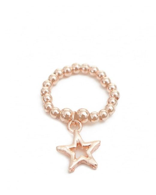 Olia Jewellery - Metallic Athena Beaded Star Ring - Lyst