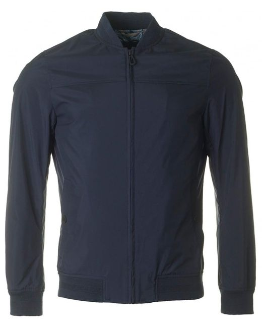 Ted Baker - Blue Ohta Bomber Jacket for Men - Lyst