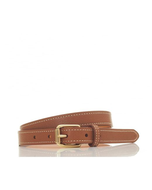 Polo Ralph Lauren | Multicolor Skinny Leather Belt | Lyst