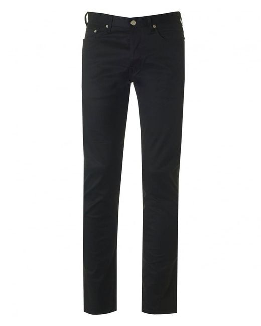 Paul Smith - Black 5 Pocket Tapered Fit Pants for Men - Lyst