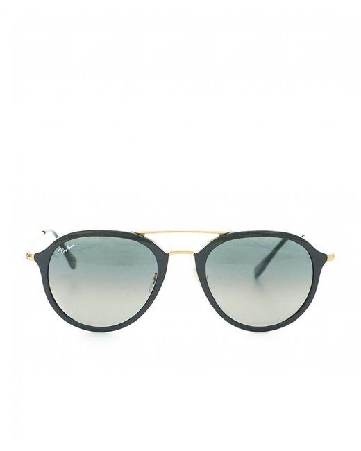 Ray-Ban - Metallic Double Bridge Round Sunglasses for Men - Lyst