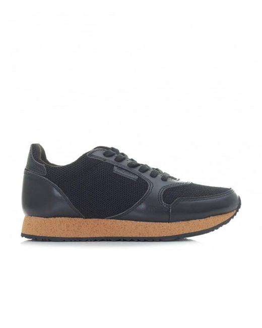 Woden Footwear   Black Ydun Ii Cork Sole Sneakers for Men   Lyst