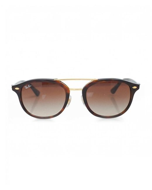9d07b9a9fd3 ... Ray-Ban - Multicolor Round Gold Double Bridge Sunglasses for Men - Lyst  ...