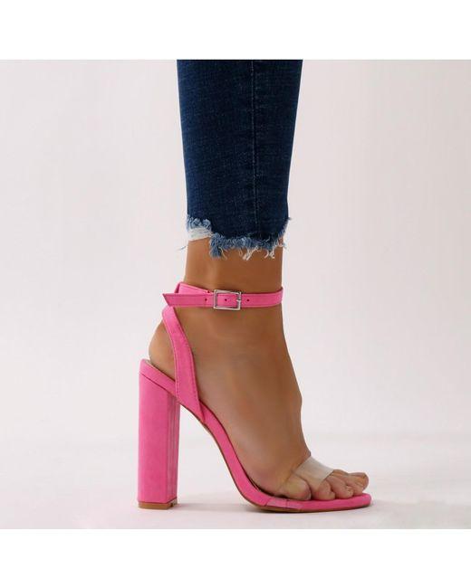 Public DesireNATASA - High heeled sandals - orange pJh99s5