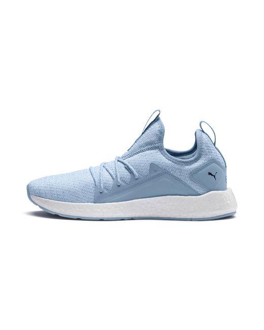 PUMA - Blue Nrgy Neko Knit Women's Running Shoes - Lyst