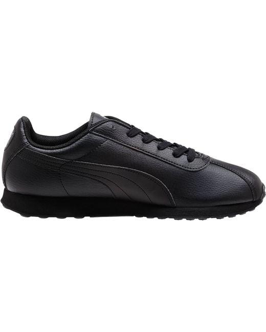 Puma Turin Men S Sneakers In Black For Men Black Black