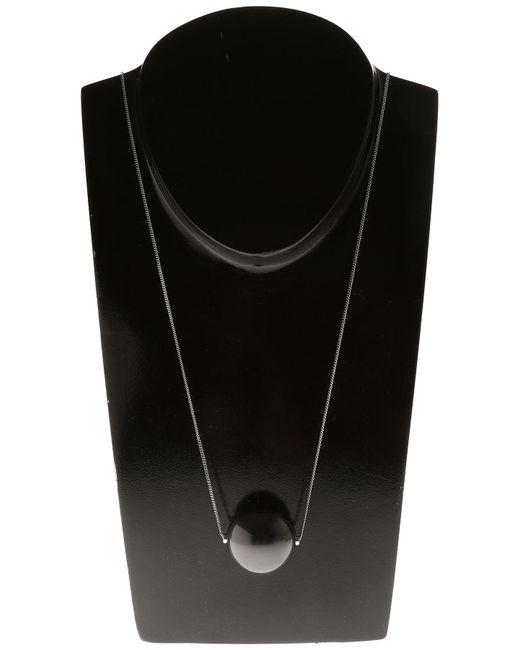 Ferragamo - Black Necklaces - Lyst