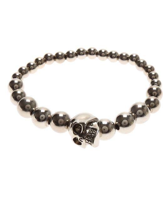 Alexander McQueen   Metallic Mens Jewelry for Men   Lyst