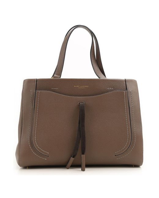 a07a467dcec Marc Jacobs - Brown Tote Bag - Lyst ...