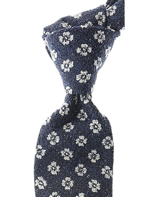 Belvest - Blue Ties On Sale for Men - Lyst
