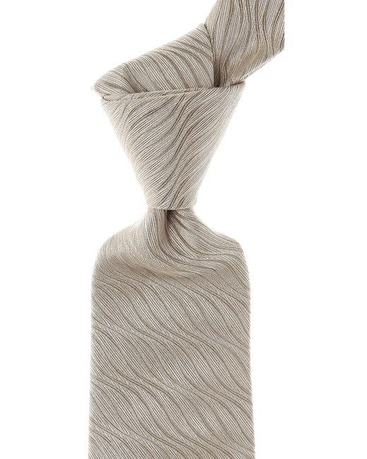 Moschino - Gray Ties for Men - Lyst