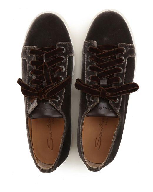 9bcb30c1b3f Lyst - Sneaker Femme Pas cher en Soldes Outlet Santoni en coloris ...