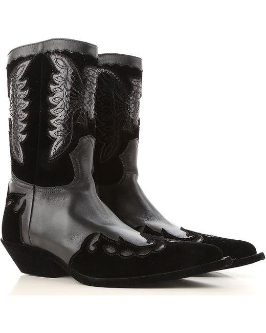 Givenchy - Black Boots For Men for Men - Lyst