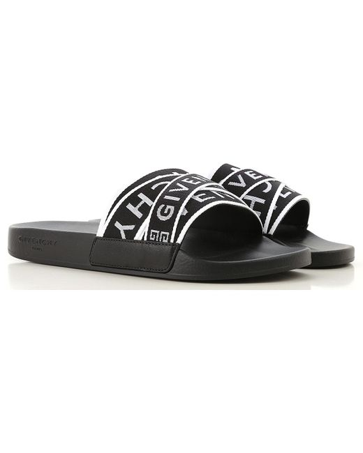 07287a7014ac6 Givenchy - Black Sandals For Men for Men - Lyst ...
