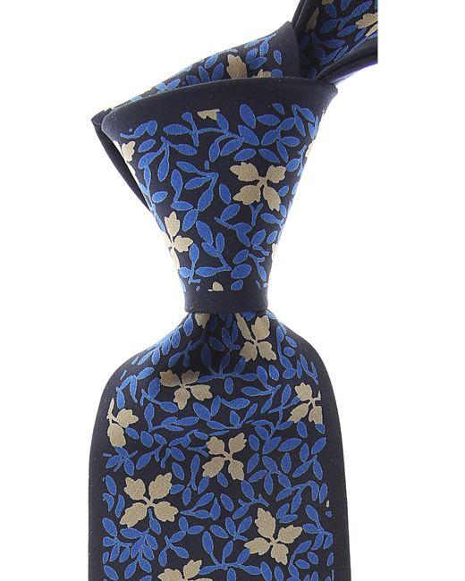 Mila Schon - Blue Corbatas Baratos en Rebajas for Men - Lyst