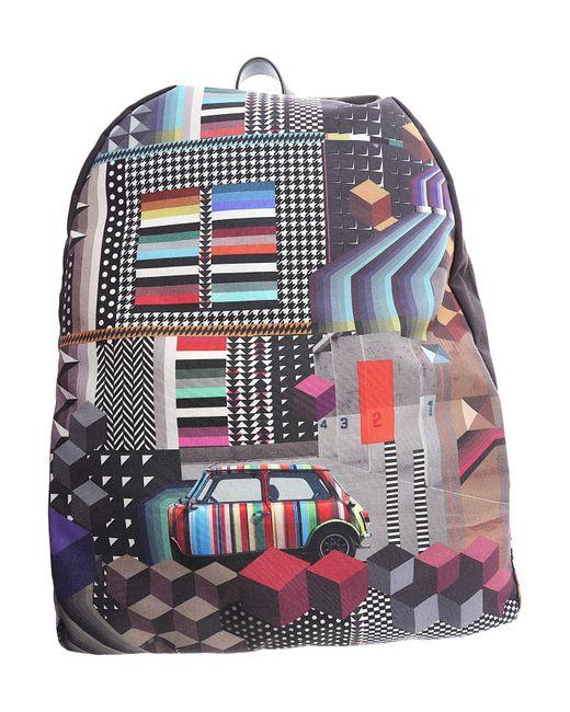 Paul Smith - Black Backpack For Men for Men - Lyst
