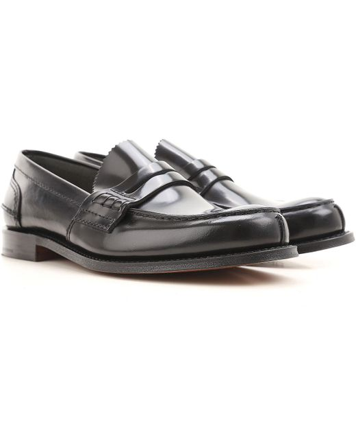 4b90dd49ec9 Lyst - Church s Shoes For Men in Black for Men - Save 21%