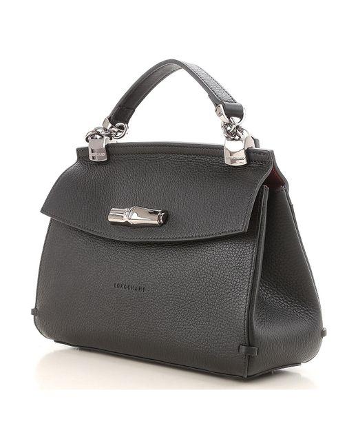 15c5df6c7d50 ... Longchamp - Black Shoulder Bag For Women On Sale - Lyst ...
