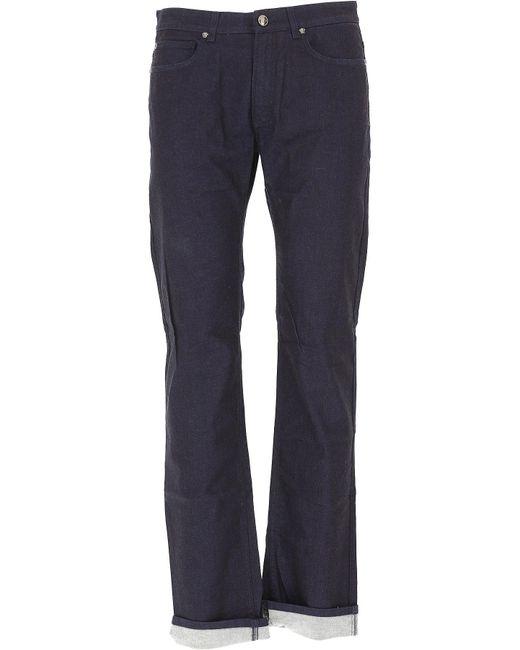 Versace - Blue Clothing For Men for Men - Lyst