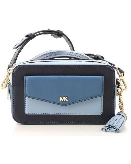 599bc9e91bfe5 Michael Kors - Blue Shoulder Bag For Women - Lyst ...
