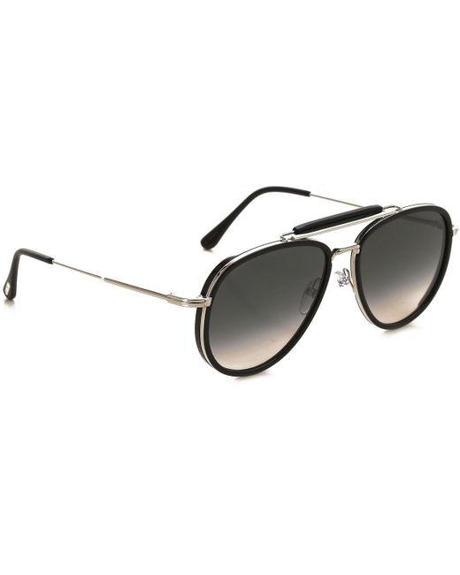 Tom Ford - Metallic Sunglasses On Sale - Lyst