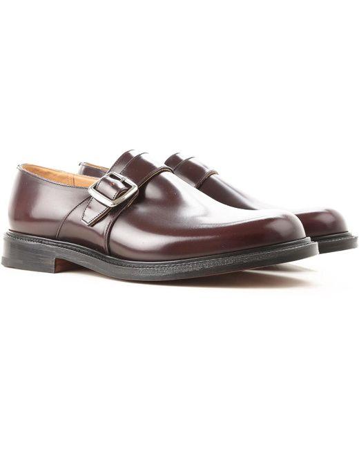 Zapatos Rebajas Marrón Baratos Color De Hebilla Hombre Monkstrap Para En Nvnywm80O