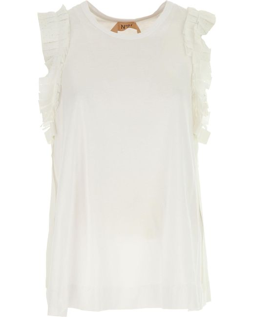 N°21 - White Clothing For Women - Lyst